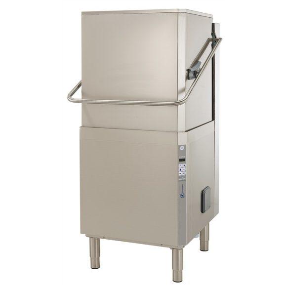 Electrolux ipari mosogatógép fehér edényekhez Átadó rendszerű, ürítő pumpával, öblitőszer adagolóval