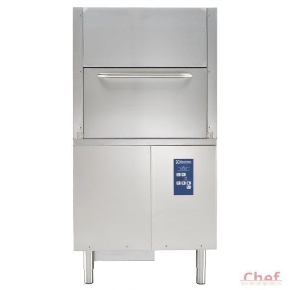 Electrolux ipari mosogatógép fekete edényekhez Átadó rendszerű, ürítő pumpával, öblitőszer és mososzer adagolóval