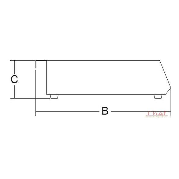 SIRMAN Ipari indukciós főzőlap Piastra IH 35