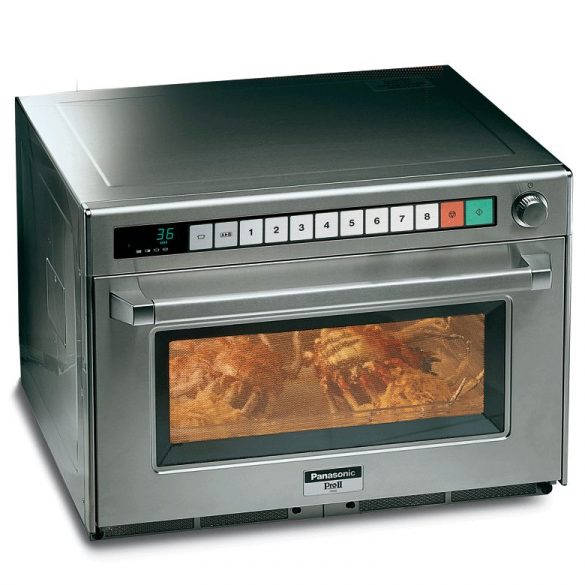 Panasonic Ipari mikrohullámú sütő, PRO 2, NE 1880 Digitale, 1800W