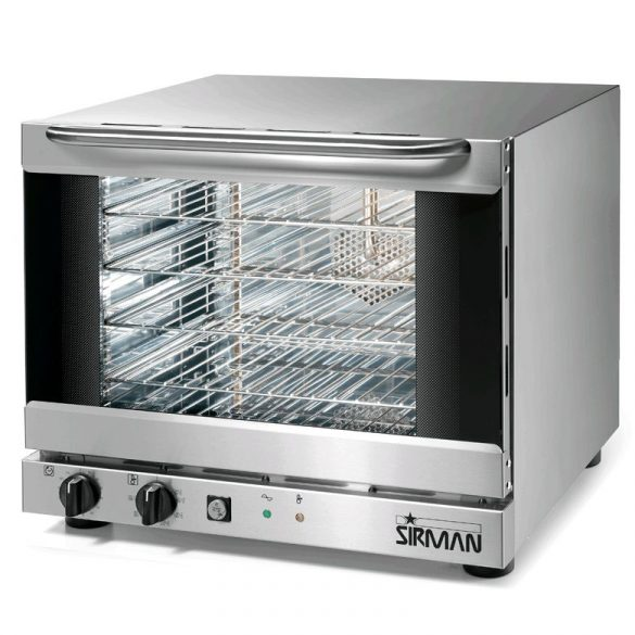 SIRMAN Ipari sütő, Légkeveréses sütő, ALISEO 2/3 PLUS, állítható páratartalom