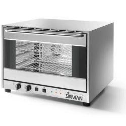 SIRMAN Légkeveréses sütő, ALISEO 4, 4×GN1/1