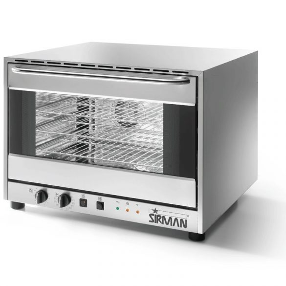SIRMAN Ipari sütő, Légkeveréses sütő, ALISEO 4, 4×60*40