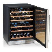 SIRMAN Borhűtő, Soave, 5-12 /12-22 °C, kapacítás: 51 palack