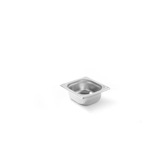 HENDI GN 1/9 Kitchen line 65mm, Gasztronorm rozsdamentes edény