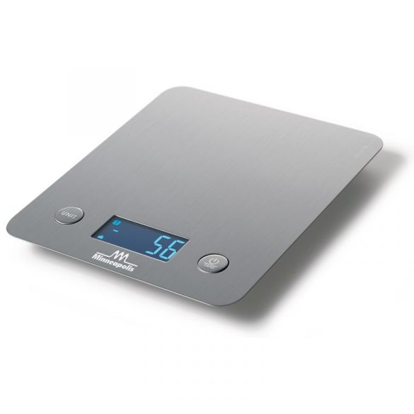 SIRMAN Minneapolis 5/1 flat Inox, asztali konyhai mérleg 5kg