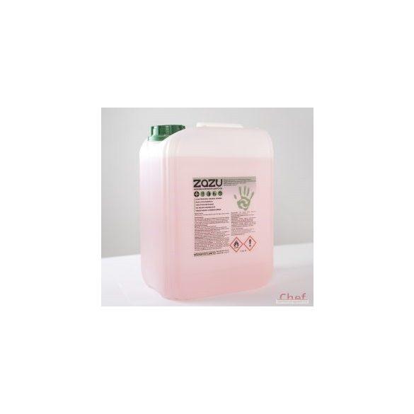 Bőrbarát, enyhén illatosított kézfertőtlenítő gél, 5 liter