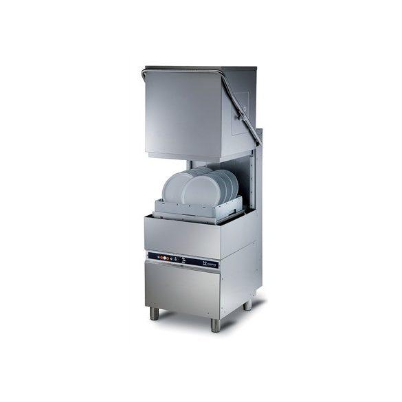 KRUPPS ipari mosogatógép K1100E Átmenő rendszerű mosogató gép 400V, 6,52kW, Éríntőképernyős kijelzéssel, lefolyó szivattyú külön rendelhető