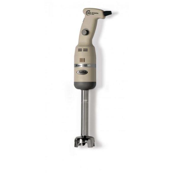 Fama ipari kézi botmixer 250mm szárral, 250W, Állítható sebesség, 250VV