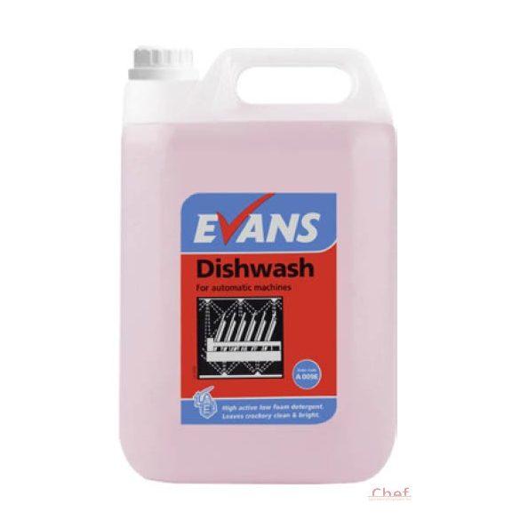 Evans Gépi Mosogatószer 5 literes,1-3 ml/1liter víz