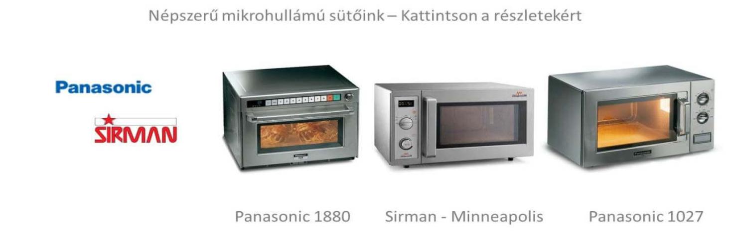 Ipari mikrohullámú sütő